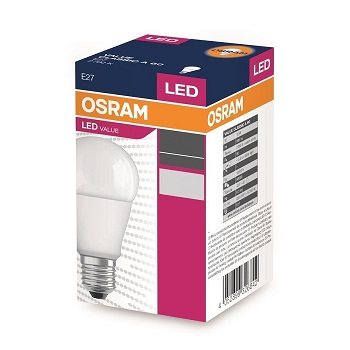 Osram Led Value 10W-75W 6500 Kelvin E27